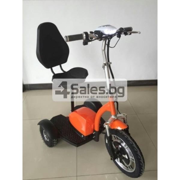 Сгъваема електрическа триколка скутер подходяща за двама TRIKOK3 7
