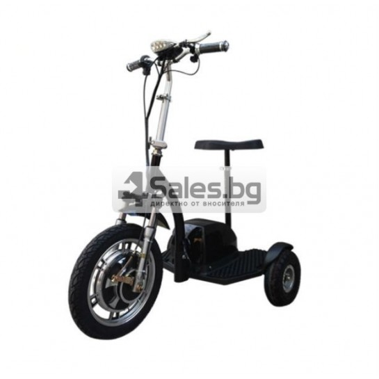 Сгъваема електрическа триколка скутер подходяща за двама TRIKOK3