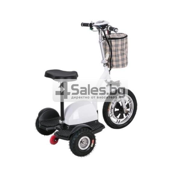 Сгъваема електрическа триколка скутер подходяща за двама TRIKOK3 11