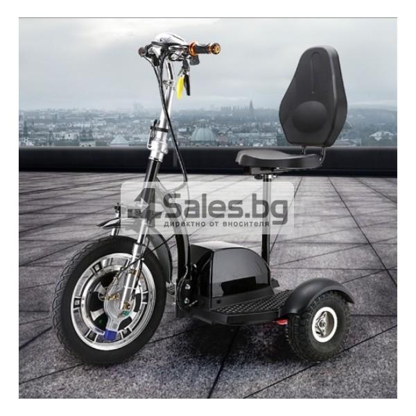 Сгъваема електрическа триколка скутер подходяща за двама TRIKOK3 12