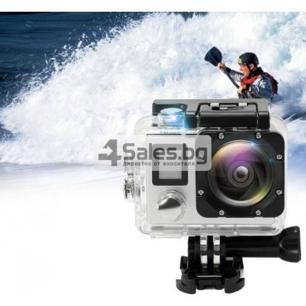 Екшън камера с висока 4K резолюция за любителите на динамичен начин на живот SC4 1