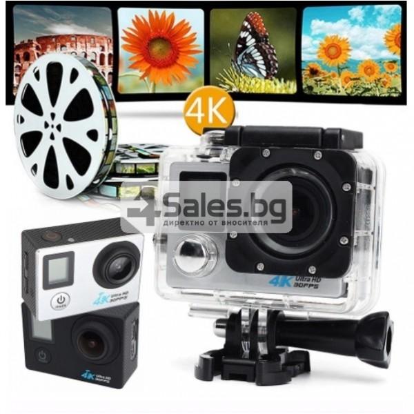 Екшън камера с висока 4K резолюция за любителите на динамичен начин на живот SC4 3