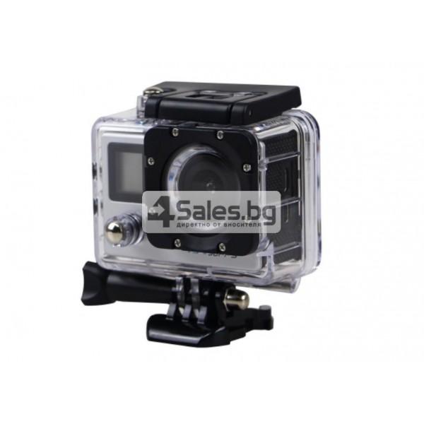 Екшън камера с висока 4K резолюция за любителите на динамичен начин на живот SC4 9