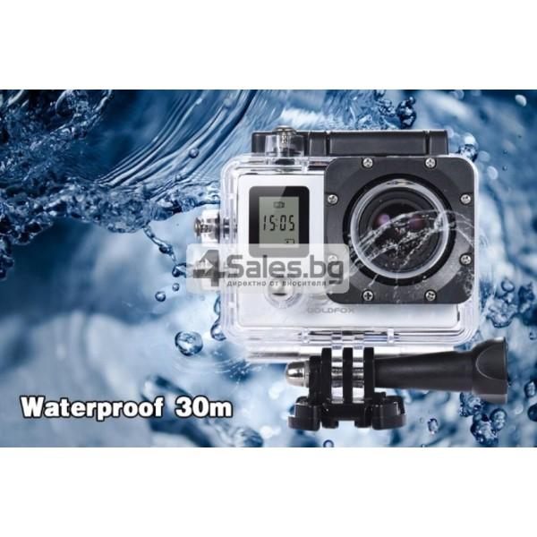 Екшън камера с висока 4K резолюция за любителите на динамичен начин на живот SC4 13