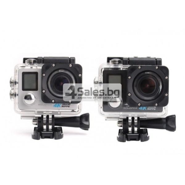 Екшън камера с висока 4K резолюция за любителите на динамичен начин на живот SC4 14