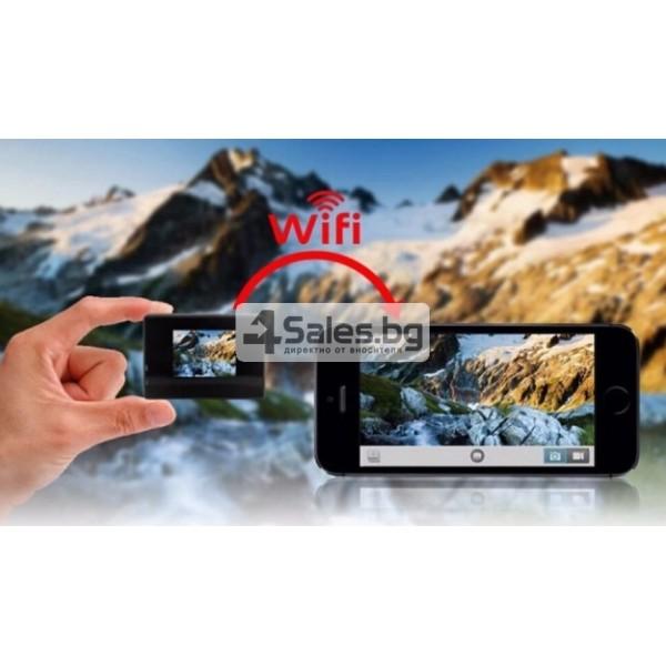 Екшън камера с висока 4K резолюция за любителите на динамичен начин на живот SC4 15