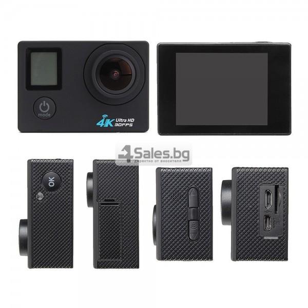 Екшън камера с висока 4K резолюция за любителите на динамичен начин на живот SC4 20