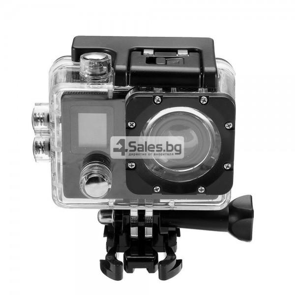 Екшън камера с висока 4K резолюция за любителите на динамичен начин на живот SC4 21