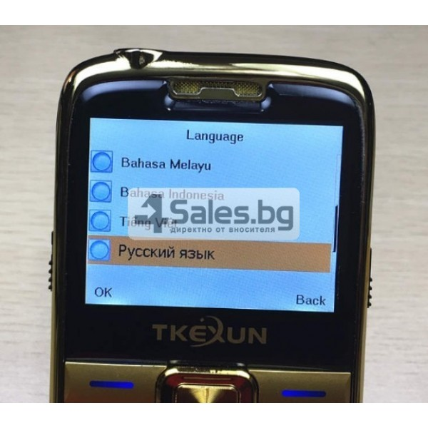 Телефон за възрастни хора с големи бутони и цветен 2,2 инча екран E71 8