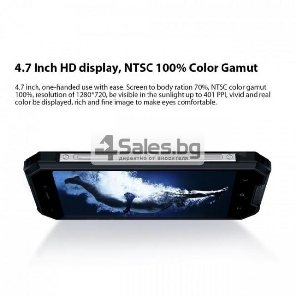 "Blackview BV4000 Pro, водоустойчив смартфон, екран 4.7"", четириядрен, Android 7 9"