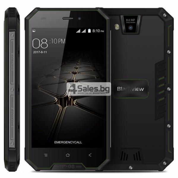 "Blackview BV4000 Pro, водоустойчив смартфон, екран 4.7"", четириядрен, Android 7 17"