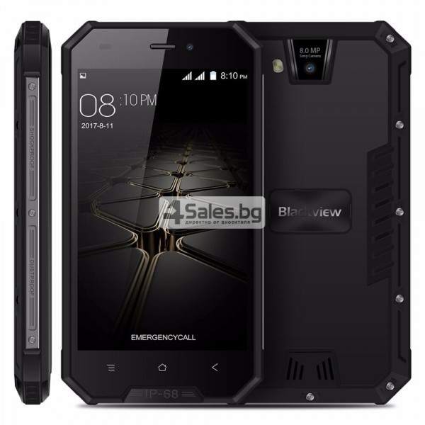 "Blackview BV4000 Pro, водоустойчив смартфон, екран 4.7"", четириядрен, Android 7 18"