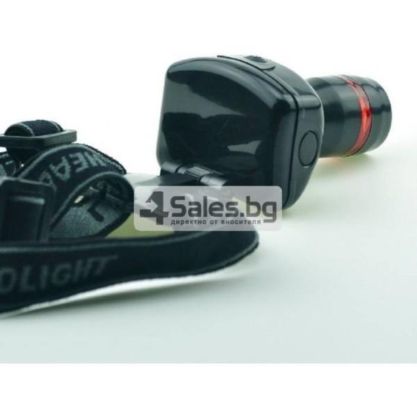 Челник 3W LED светлинен фенер с три предавки и телескопично мащабиране FL26 1