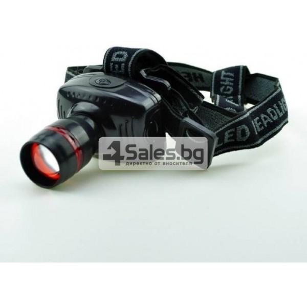 Челник 3W LED светлинен фенер с три предавки и телескопично мащабиране FL26 6