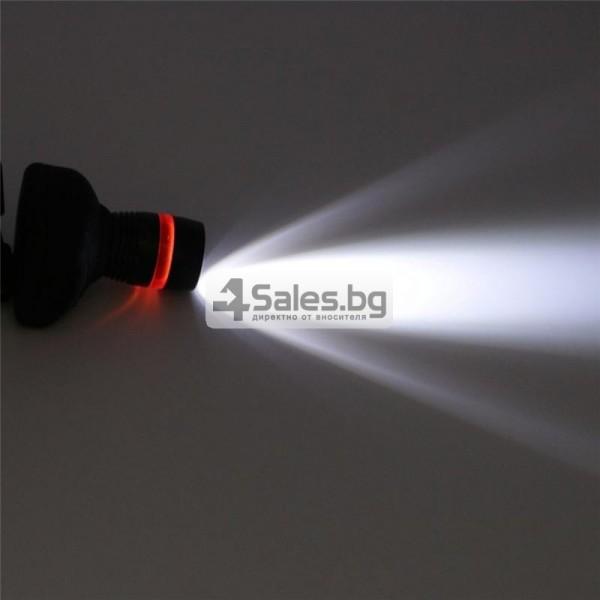 Челник 3W LED светлинен фенер с три предавки и телескопично мащабиране FL26 8