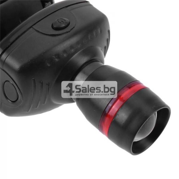Челник 3W LED светлинен фенер с три предавки и телескопично мащабиране FL26 9