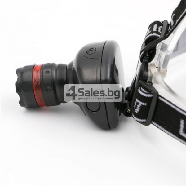 Челник 3W LED светлинен фенер с три предавки и телескопично мащабиране FL26 10