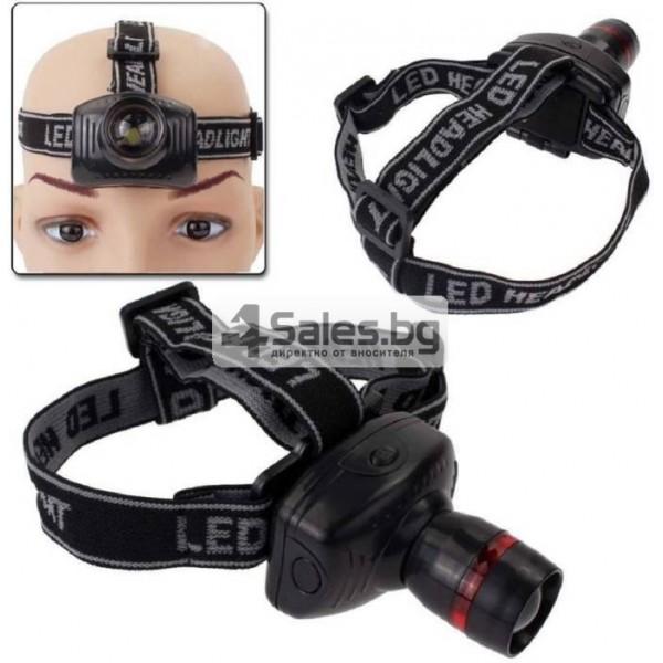 Челник 3W LED светлинен фенер с три предавки и телескопично мащабиране FL26 11