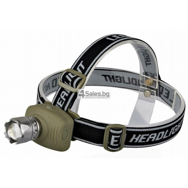 Челник, фенер за глава с регулируема светлина и настройка фокус FL29