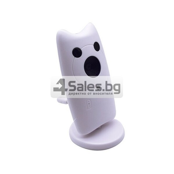 Безжична бебефон система с камера и двупосочно аудио WB801 IP16 1