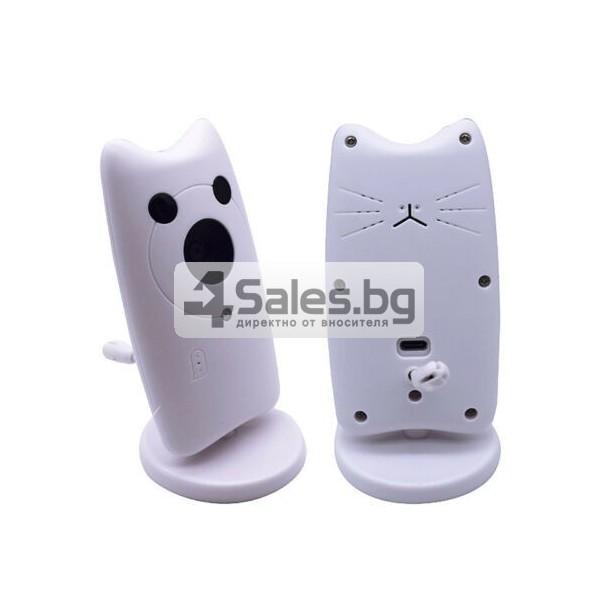 Безжична бебефон система с камера и двупосочно аудио WB801 IP16 2