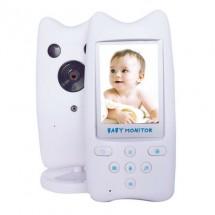 Безжична бебефон система с камера и двупосочно аудио WB801 IP16