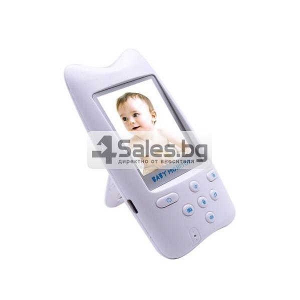 Безжична бебефон система с камера и двупосочно аудио WB801 IP16 4