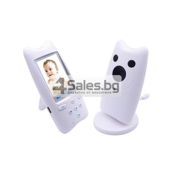 Безжична бебефон система с камера и двупосочно аудио WB801 IP16 6