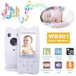 Безжична бебефон система с камера и двупосочно аудио WB801 IP16 7