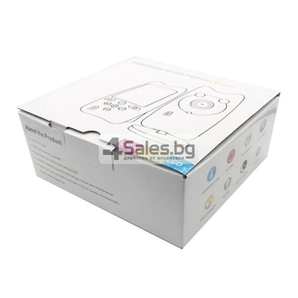 Безжична бебефон система с камера и двупосочно аудио WB801 IP16 10