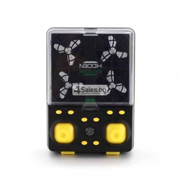 Wi Fi квадрокоптер с управление от смартфон, HD камера, голяма маневреност QS003 8