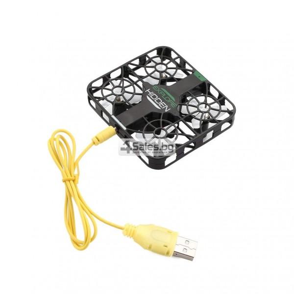 Wi Fi квадрокоптер с управление от смартфон, HD камера, голяма маневреност QS003 9