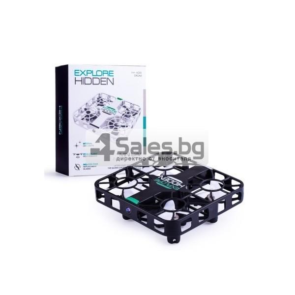 Wi Fi квадрокоптер с управление от смартфон, HD камера, голяма маневреност QS003 15