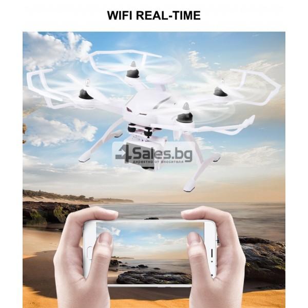 Професионален дрон с GPS, Wi Fi, FULL HD камера (запис в реално време) CG035 12