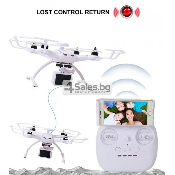 Професионален дрон с GPS, Wi Fi, FULL HD камера (запис в реално време) CG035 13