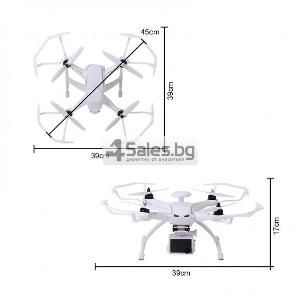 Професионален дрон с GPS, Wi Fi, FULL HD камера (запис в реално време) CG035 14