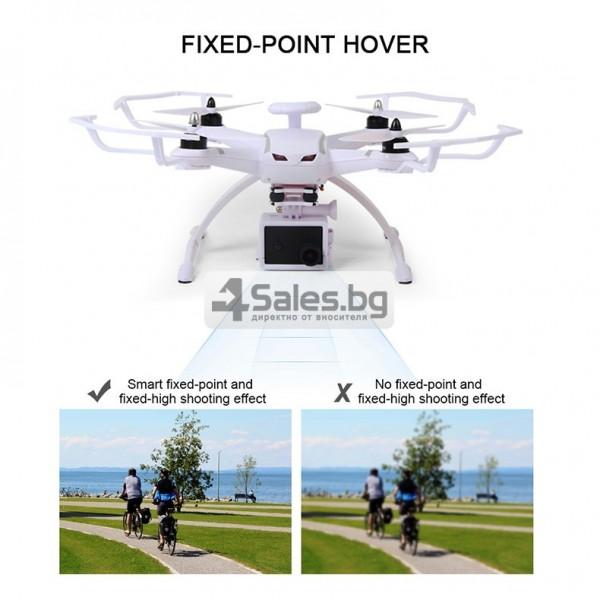 Професионален дрон с GPS, Wi Fi, FULL HD камера (запис в реално време) CG035 16