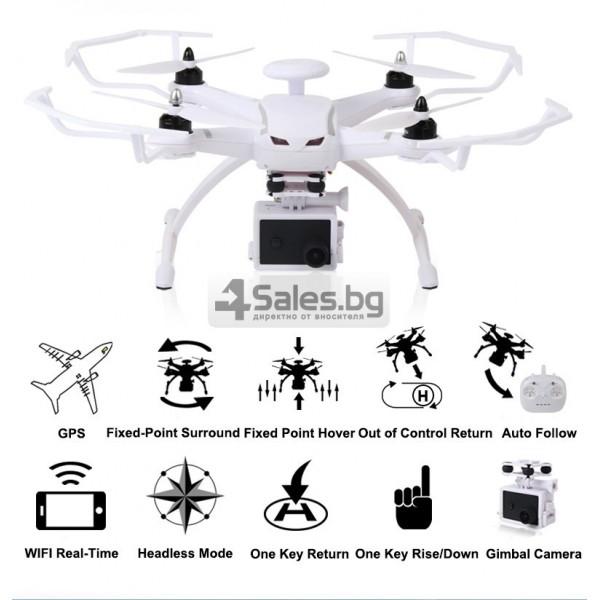 Професионален дрон с GPS, Wi Fi, FULL HD камера (запис в реално време) CG035 17