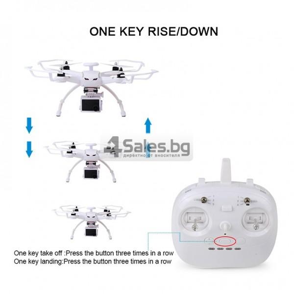 Професионален дрон с GPS, Wi Fi, FULL HD камера (запис в реално време) CG035 19