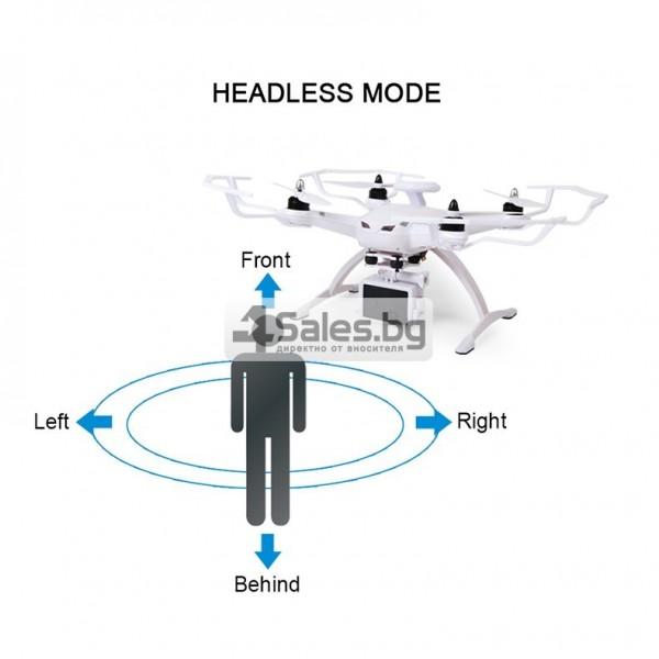 Професионален дрон с GPS, Wi Fi, FULL HD камера (запис в реално време) CG035 21