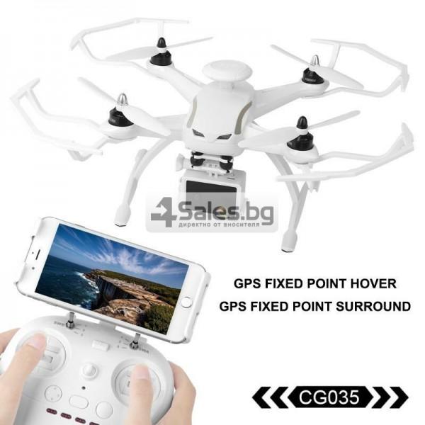 Професионален дрон с GPS, Wi Fi, FULL HD камера (запис в реално време) CG035 24