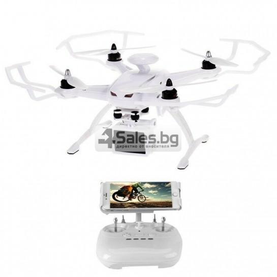 Професионален дрон с GPS, Wi Fi, FULL HD камера (запис в реално време) CG035