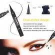 Двойна очна линия-писалка с дълготраен ефект и водоустойчивост HZS110 9