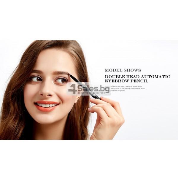 Водоустойчив автоматичен молив за вежди с четка за вежди MAANGE HZS117 5