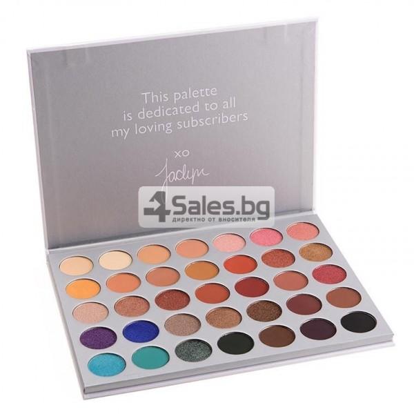 Палитра от 35 броя сенки за очи с удивителни цветове MORPH by Jaclyn Hill HZS114 1