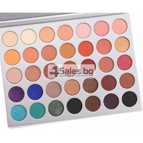 Палитра от 35 броя сенки за очи с удивителни цветове MORPH by Jaclyn Hill HZS114 2