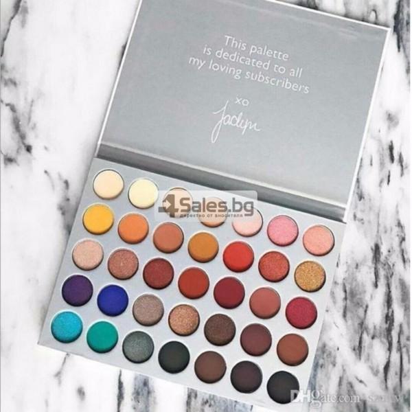 Палитра от 35 броя сенки за очи с удивителни цветове MORPH by Jaclyn Hill HZS114 3