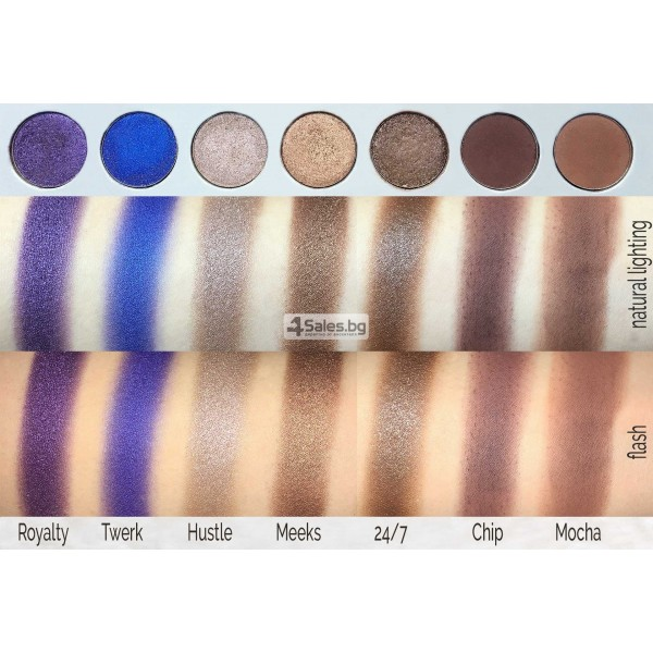 Палитра от 35 броя сенки за очи с удивителни цветове MORPH by Jaclyn Hill HZS114 11