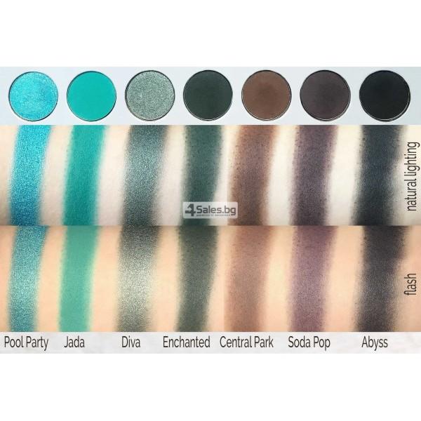 Палитра от 35 броя сенки за очи с удивителни цветове MORPH by Jaclyn Hill HZS114 12
