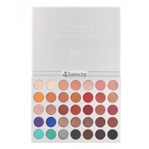 Палитра от 35 броя сенки за очи с удивителни цветове MORPH by Jaclyn Hill HZS114 14